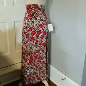 """LuLaRoe Maxi skirt, 6"""" waistband.   Sz 3XL"""